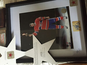 Max pacioretty signed numbered and framed West Island Greater Montréal image 1
