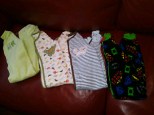 18-24 month baby sleepers $15 takes lot