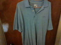 Polo Lacoste light blue(bleu poudre) size 5(Large) Vintage washe