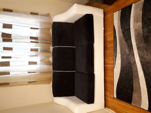 Sailing set of sofa bed and armchair