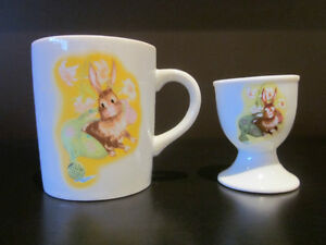 Easter - Never Used Children's EASTER  China Set
