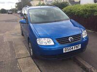 Vw touran blue diesel 1.9 !!BARGAIN !!! Low mileage!