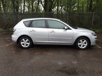 2007 MAZDA 3 TS DIESEL SILVER 1 OWNER FROM NEW