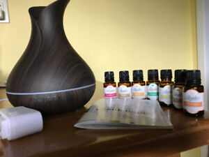 Diffuser with Coloured Lights and Essential Oils