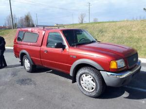 Ford Ranger 2002, 4x4, 6 cylindres, moteur de 4L