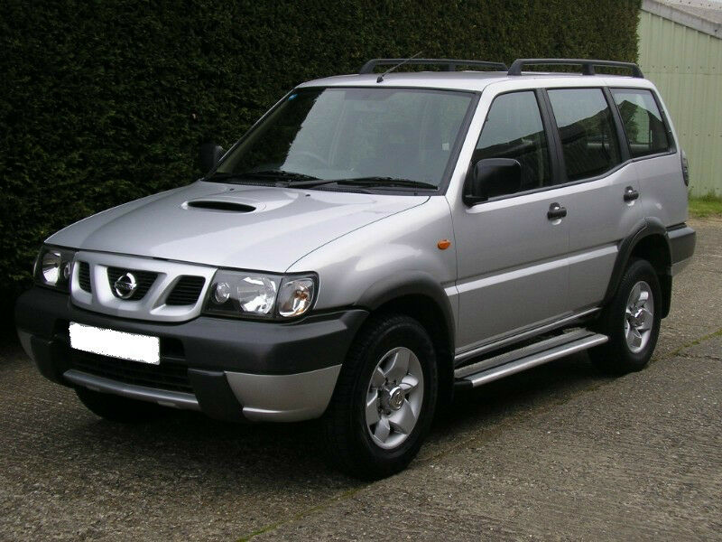 2004 new shape nissan terrano 2 7 tdi lwb 4x4 7 seater one owner very low mileage s. Black Bedroom Furniture Sets. Home Design Ideas
