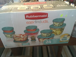 Rubbermaid 24 piece food storage