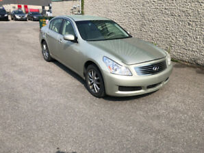 2007 INFINITI G35X AWD LEATHER INTERIOR 93,000KM