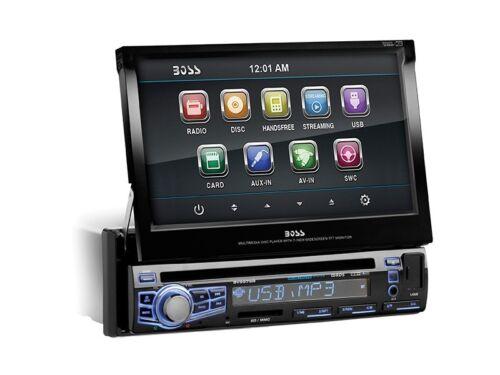 "New Boss BV9976B 7"" Touchscreen In-Dash DVD/MP3/CD Car Audio"