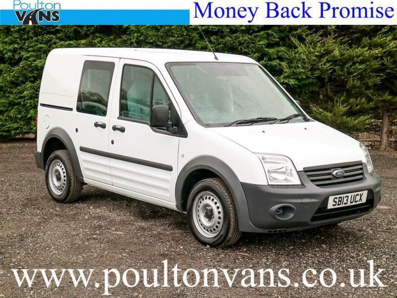 9f7f887a5619a5 2013 (13) FORD CONNECT T220 SWB 5 SEAT CREW VAN   COMBI 1.8TDCI ...