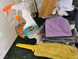 Random cleaning bits