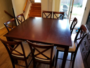 Put  style dining table and chairs
