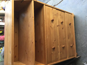 IKEA Change table dresser and hutch