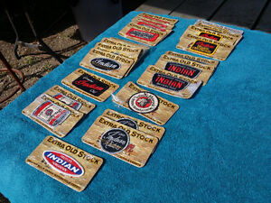 Vintage  india motorcycle patches
