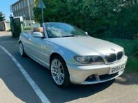 BMW 2004 54 REG 318ci 2.0 SE CONVERTIBLE, MANUAL, 82K WARRANTED, 1 PREVIOUSOWNER
