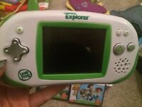 Leapster explorer like new