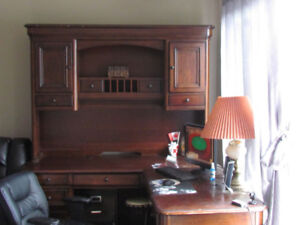 large beautiful solid wood desk