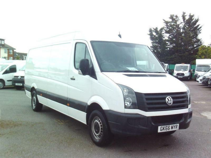 Volkswagen Crafter CR35 STARTLINE TDI LWB DIESEL MANUAL WHITE (2016)