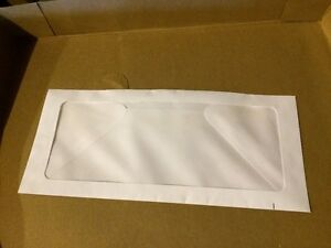 "REDUCED: Special Window Envelopes - White Wove (4 1/8"" x 9 1/2"") Peterborough Peterborough Area image 2"