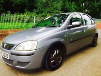 """2004 Vauxhall corsa 1.2. 15"""" gsi alloys ( just recently painted) all new tyres. S/s exhaust."""