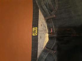 Ladies motorcycle draggin jeans size 12