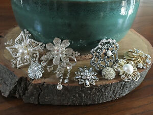Beautiful Wedding Brooches