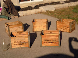 Silverwoods St. Thomas Milk Crate Case London Ontario image 1