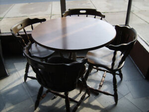 (Closed bar), tables and chairs for sale..