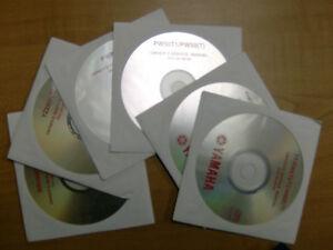 2005 YAMAHA MOTORCYCLE SERVICE SHOP MANUALS ON CD