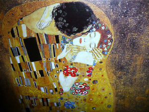 "Gustav Klimt ""The Kiss"" Art Print Stratford Kitchener Area image 3"