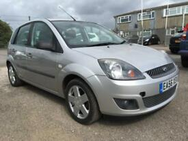 2006 Ford Fiesta Hatch 5Dr 1.4 80 Zetec Climate 5 Petrol silver Manual