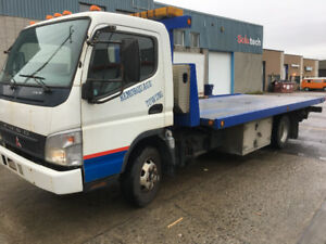2007 Mitsubishi Fuso f180 Towing dépanneuse Platefome