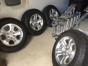 Chevy Silverado Tires and Rims - Great Shape