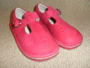 Stride Rite -Dark Pink Leather Size 12 Cambridge Kitchener Area image 2