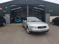 2002 Audi A4 1.9TDI 130 MANUAL DIESEL SE PX TO CLEAR
