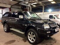 MITSUBISHI L200 2.5 TD 113 LWB 4WD ANIMAL CREWECAB PICKUP with TOW BAR *3 MONTHS WARRANTY**