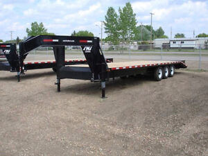 2014 SWS 36FT GOOSENECK TRIDEM FLIP DOWN RAMPS DOVE TAIL