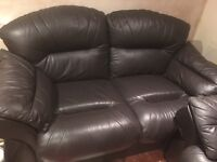 Sofa 2 seater and 3 seater used but good condition