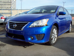 2014 NISSAN SENTRA SPORT with NAVIGATION & REARVIEW CAMERA!