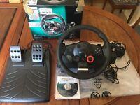 Logitech Driving Force GT steering wheel PS/PC