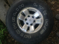 "Original Toyota Tacoma 15""/6 bolt Rims"