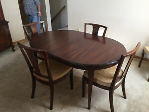 China Cabinet, Hutch, dining room table and chairs