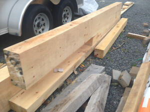 Pine Wood Beams