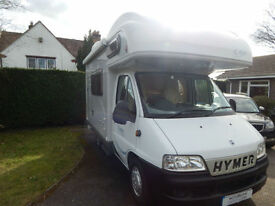 Hymer Camp C494 Fiat Diesel 4 Berth Small and Compact For Sale, High Quality