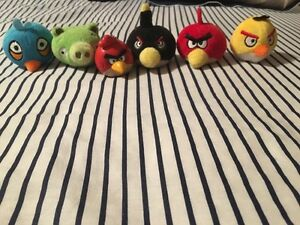 Angry Birds Keychain, Teddy Bears & Pencil toppers
