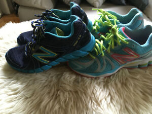 2 pairs of New Balance Running Shoes size 8.5