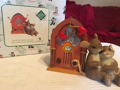 "Charming Tails ""JUST AN OLD FASHIONED LOVE SONG"" DEAN GRIFF NIB MUSIC"