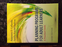 Planning Programs for Adult Learners - R. Caffrella 3rd Ed.