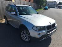 2007 57 Reg BMW X3 2.0d SE High spec Sat Nav etc
