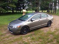 Honda Civic! 2007 LX 194,000 km